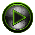 Poweramp skin STEEL OF I. LIME icon
