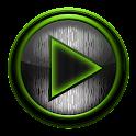 Poweramp skin 钢的石灰 icon