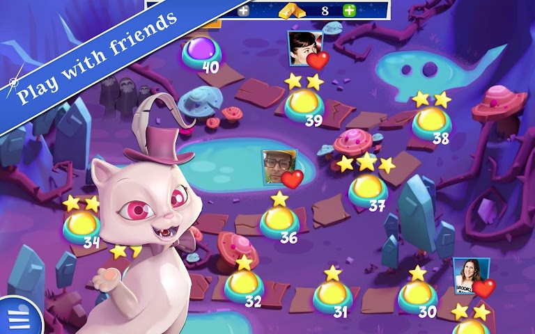 android Bubble Witch 2 Saga Screenshot 2