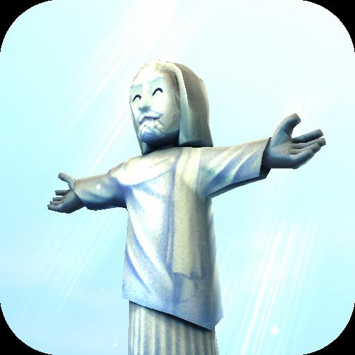 個人化必備App|基督救世主雕像3D动态壁纸免费 LOGO-綠色工廠好玩App