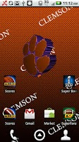 Screenshot of Clemson Live Wallpaper HD