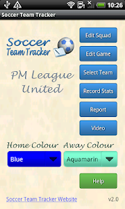 Soccer Team Tracker screenshot 0