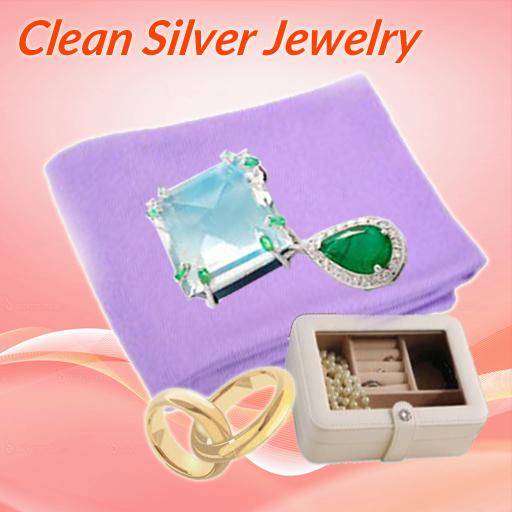 如何清潔銀飾品
