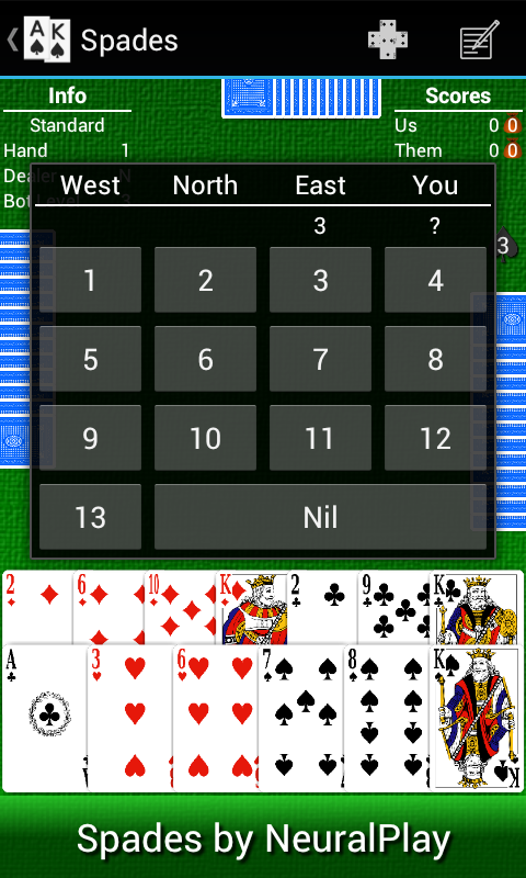Spades by NeuralPlay - screenshot