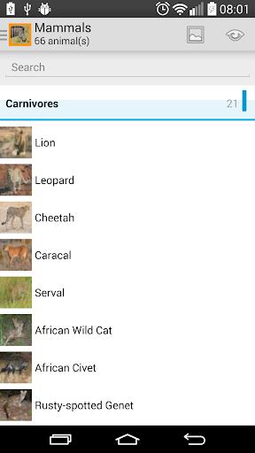 Animals of Pilansberg