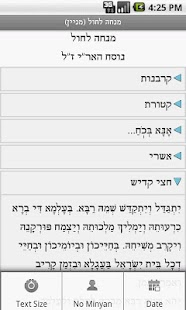 Not a Siddur (Nusach Ari)- screenshot thumbnail