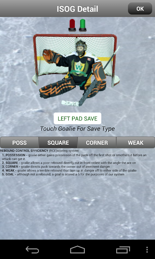 iSOG PRO Goalie & Player Stats- screenshot