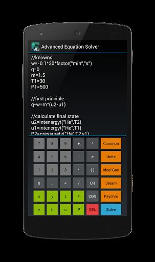 Advanced Equation Solver