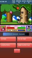 Screenshot of Super Nintendo Quizz