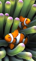 Screenshot of Sim Aquarium Live Wallpaper