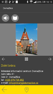 Domažlice - audio tour- screenshot thumbnail