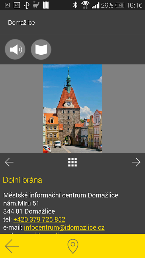 Domažlice - audio tour- screenshot