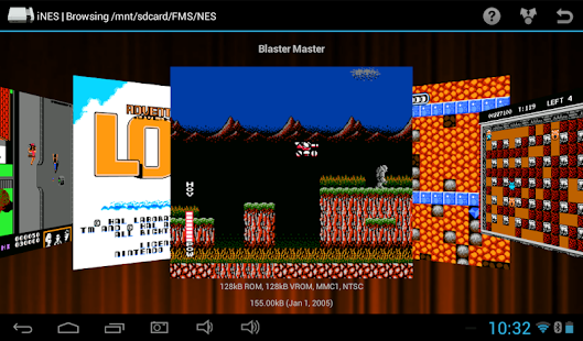 iNES - Nintendo (NES) Emulator - screenshot thumbnail