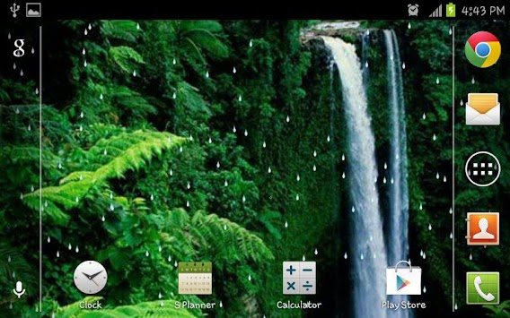 Rain Forest HD Live Wallpaper Poster