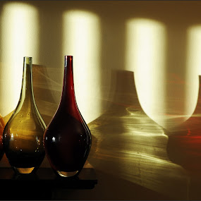 Jars by Jim Moran - Digital Art Abstract (  )