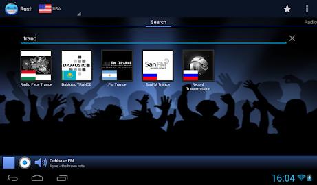 RUSH online radio and TV Screenshot 12
