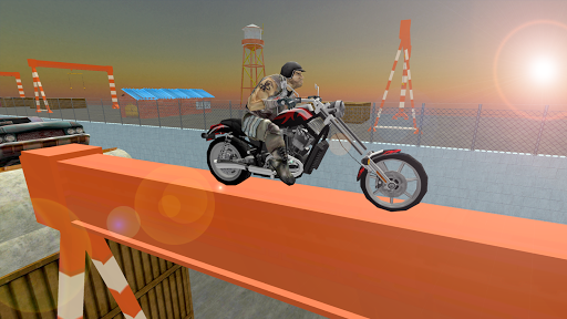 Extreme Trial Biker
