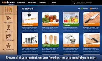 Screenshot of Top Chef University