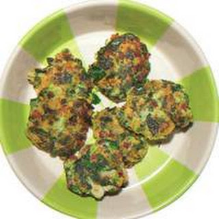 Green-with-Envy St. Pattys Potato Cakes.