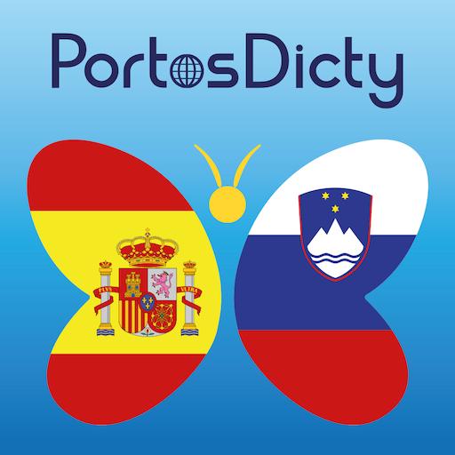 PortosDicty Esp-Slo - FREE LOGO-APP點子