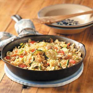 Brown Rice Veggie Stir-Fry