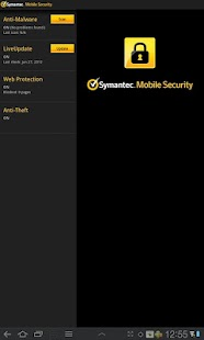Symantec Mobile Security Agent- screenshot thumbnail