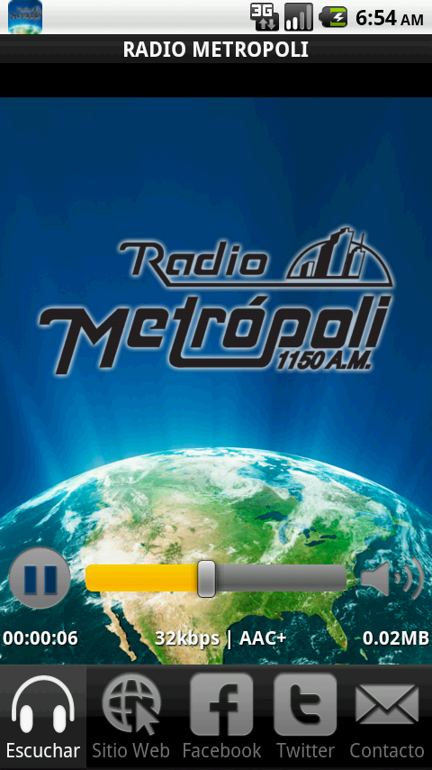 Radio Metrópoli - screenshot