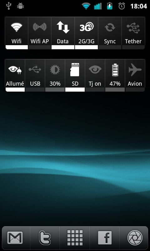 Widgetsoid icons ADW theme - screenshot