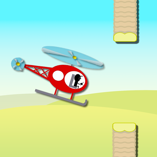 激ムズ★ヘリコプターゲーム 休閒 LOGO-玩APPs