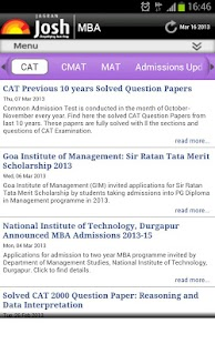 MBA Exam Quizzes & Test Papers- screenshot thumbnail