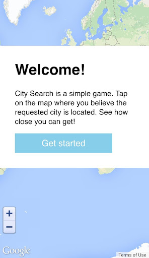 City Search Challenge