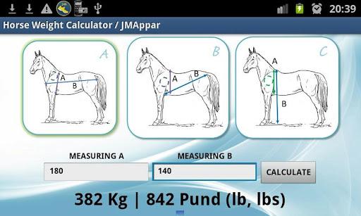 Horse Weight Calculator