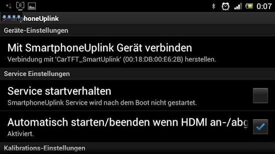 Smartphone Uplink Service-App - screenshot thumbnail