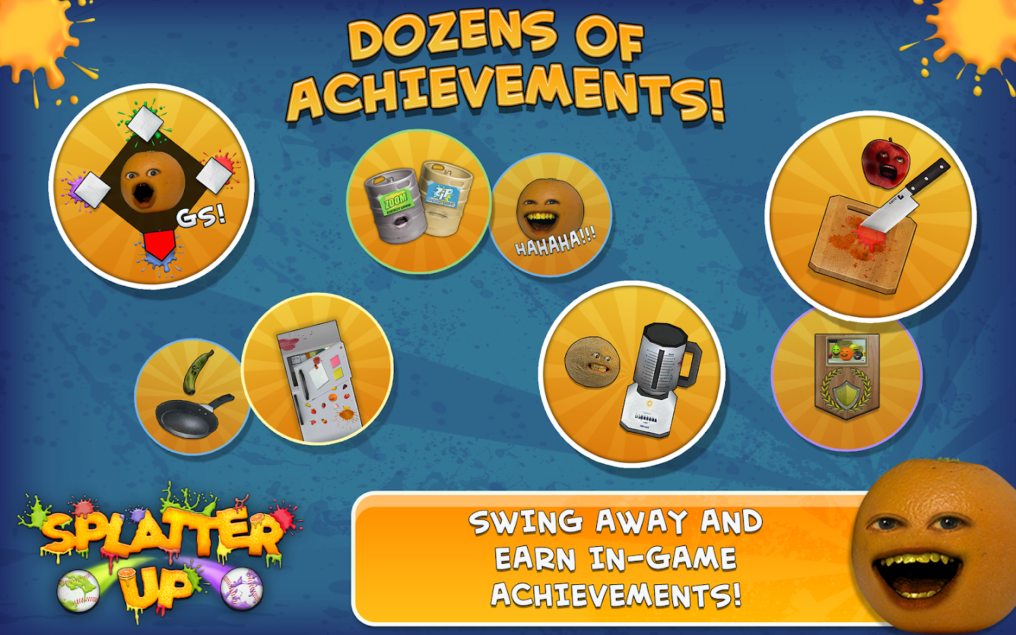 Annoying Orange: Splatter Up! - screenshot