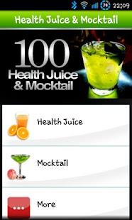 100 Health Juice & Mocktail screenshot