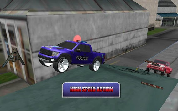 Crazy Driver Police Duty 3D APK screenshot thumbnail 2