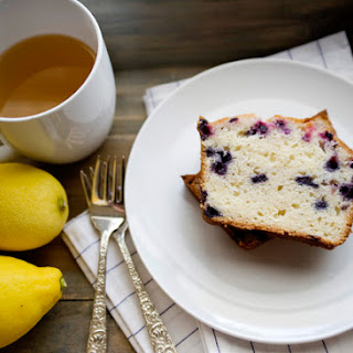 Lemon Blueberry Tea Cake.