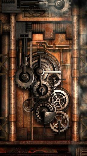 Steampunk Live Wallpaper Gears