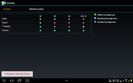 CellMaps Mobile Coverage Screenshot 11