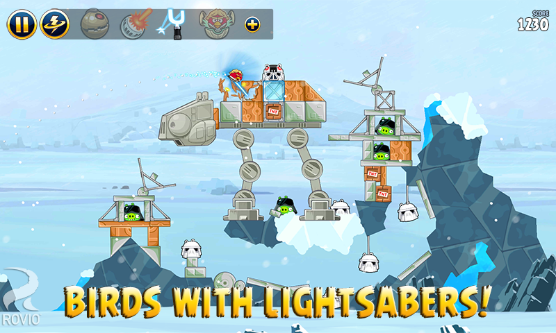 Angry Birds Star Wars HD screenshot #2