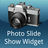 Photo slide show widget