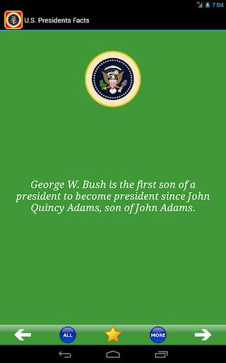玩免費書籍APP|下載U.S. Presidents Facts! app不用錢|硬是要APP