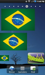 Flag of Brazil doo-dad screenshot 0