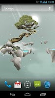 Screenshot of Sky Islands LWP free