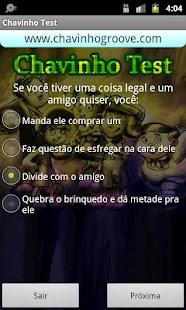 Chavinho Test - Teste Chaves- screenshot thumbnail