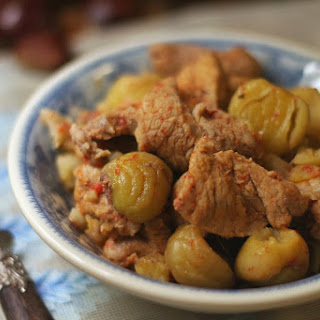 Pork with Chestnuts.