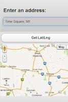 Screenshot of Geocoder