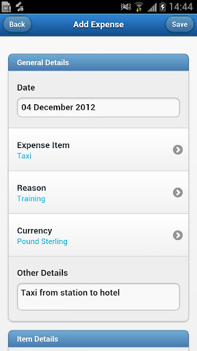 Expenses360 for Android