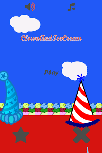Clown and Ice Cream