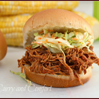 Barbecue Pulled Pork Sandwiches (Throwback Thursday).